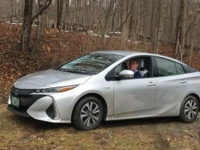 Prius Prime plug-in hybrid
