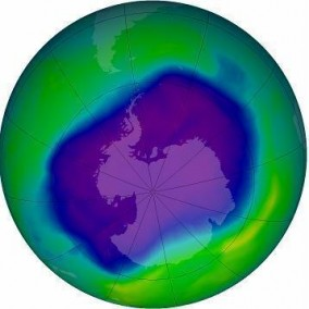 NASA's Ozone Hole Watch - Sept 24, 2006