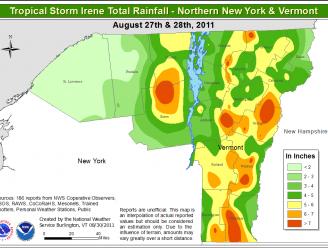 Tropical Storm Irene Film (7:25 mins)